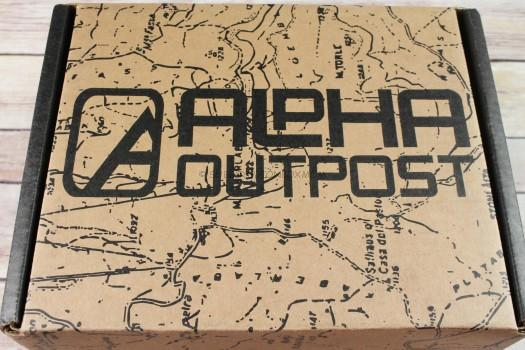 Alpha Outpost Frost March 2017 Subscription Box Review