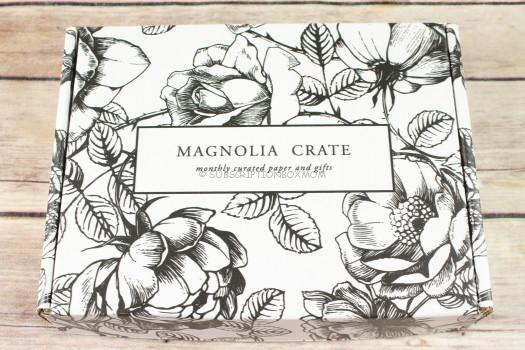 Magnolia Crate April 2017 Review