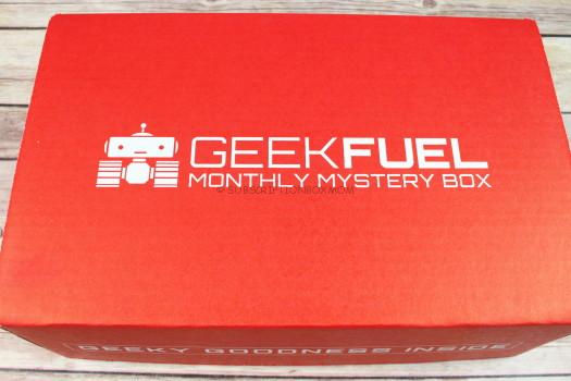 Geek Fuel April 2017 Review