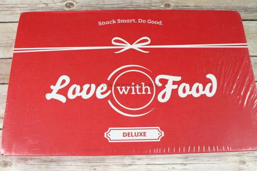 Love with Food April 2017 Deluxe Review