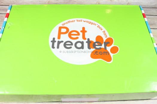 Pet Treater Box April 2017 Review