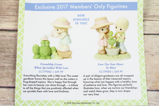 2017 Exclusive Membership Pieces