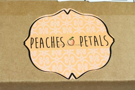 Peaches & Petals April 2017 Review