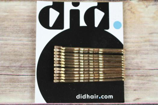 Did Hair Gold Bobby Pins