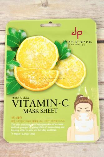 Jean Pierre Vitamin C Sheet Mask