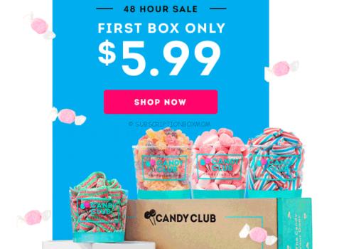 Best Candy Club Deal - 1st Box $5.99!
