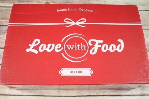 Love with Food May 2017 Deluxe Review