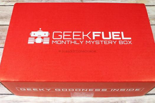 Geek Fuel May 2017 Review