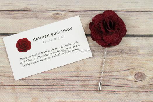 The Dark Knot Camden Lapel Pin
