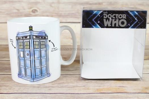 Exclusive Doctor Who Tardis Mug