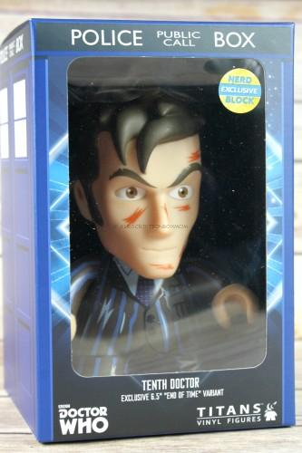 Exclusive Titan Tenth Doctor Figure