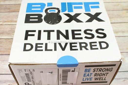 BuffBoxx May 2017 Fitness Subscription Box Review