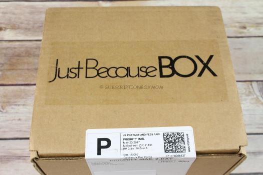 Just Because Box May 2017 Review