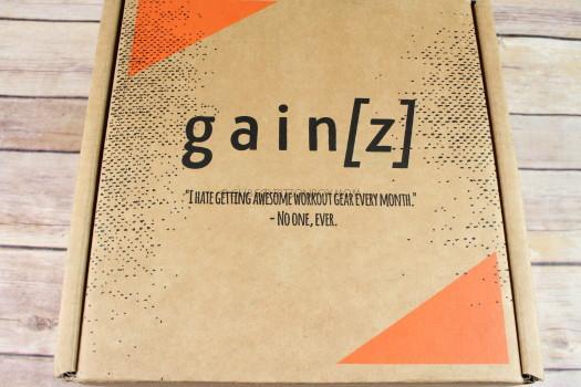 Gainz Box April 2017 Subscription Review