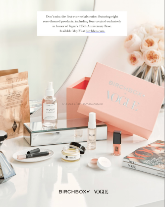 Birchbox Limited Edition Vogue Anniversary Box Available Soon