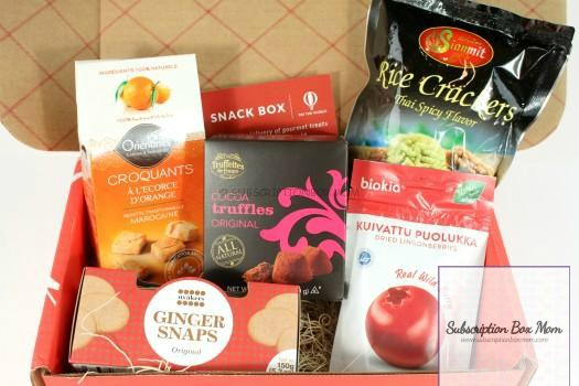 Try the World Snack Box March 2016 Review