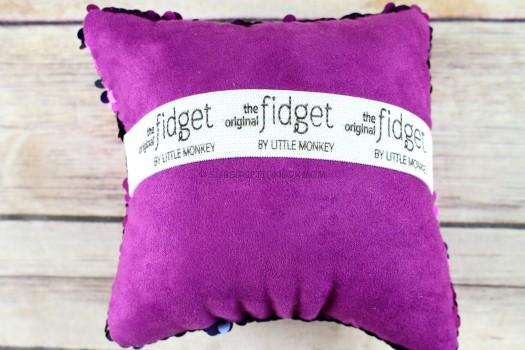 """The Original Fidget"" Reversible Sequin Pillow"