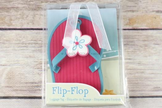 Kate Aspen Flip Flop Luggage Tag