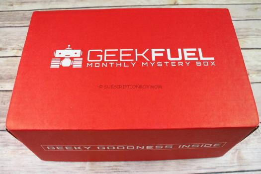 Geek Fuel July 2017 Review
