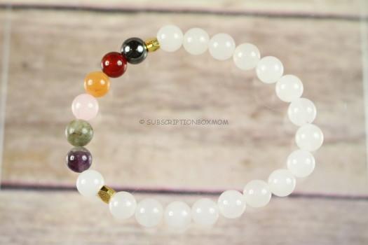 BuddhiBox - Chakra Wrist Mala Bracelet