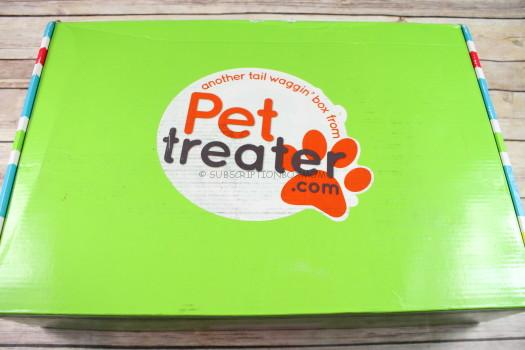 Pet Treater Box August 2017 Review