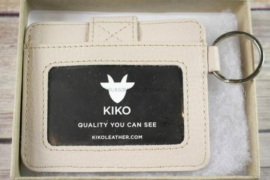 Kiko Leather Women's Card Case