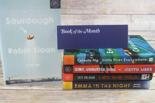 Book of the Month September 2017 Review