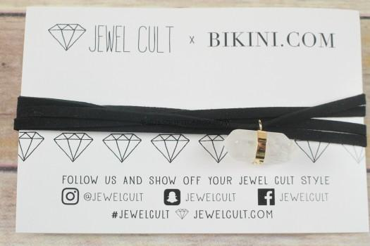 Jewel Cult Boho Stone Wrap Choker
