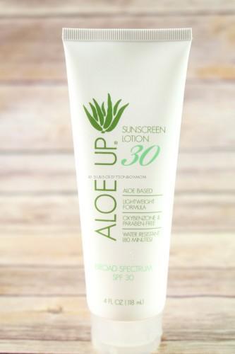 Aloe Up SPF 30 Sunscreen Lotion