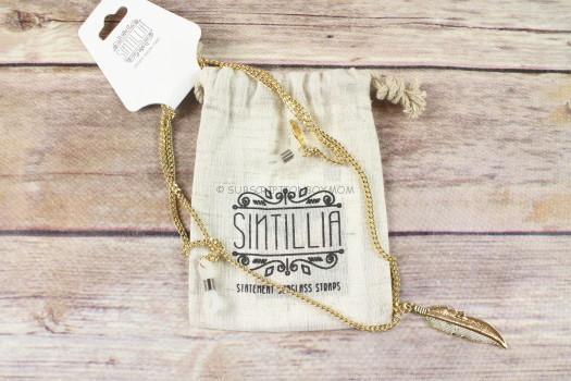 Sintillia Feather Drop Sunglasses Chain