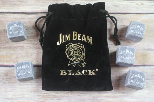 Jim Beam Black Whiskey Stones
