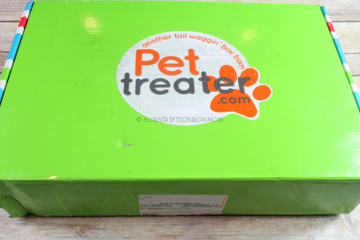 Pet Treater Box September 2017 Review