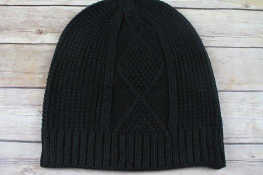 Cable Knit Beanie by The Jetset Diaries