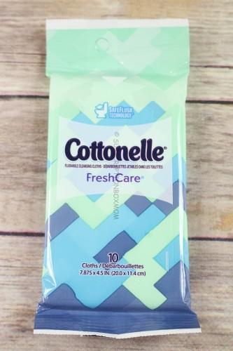Cottonelle® FreshCare® Flushable Cleansing Cloths 10 count