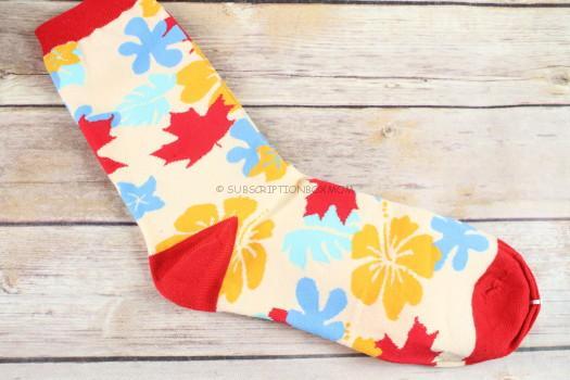 Autumn Leaves Cotton Socks