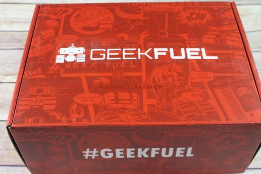 Geek Fuel September 2017 Review