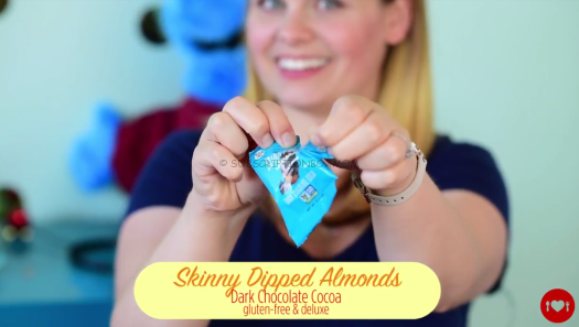 Skinny Dipped Almonds in Dark Chocolate Cocoa