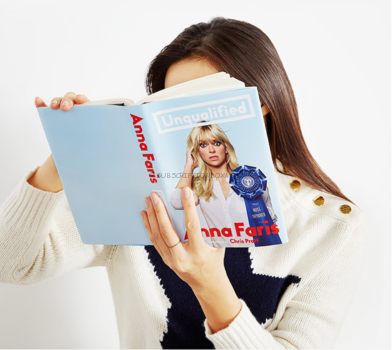 Anna Faris' new book, Unqualified