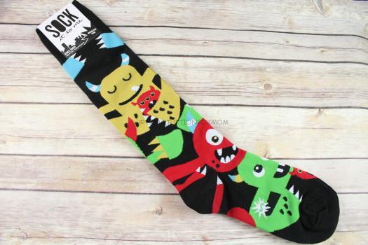 Monster Hug Knee High Socks