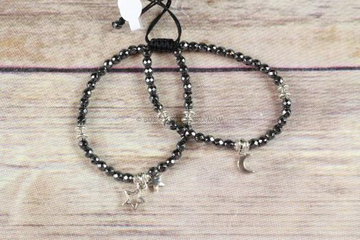 Bunny Boutique Moon & Stars Bracelet Duo