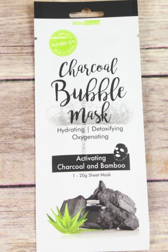 BioMiracle Charcoal Bubble Mask