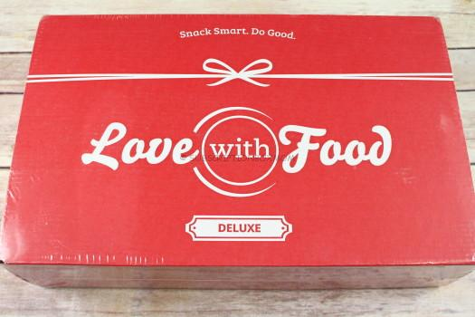Love with Food October 2017 Deluxe Review