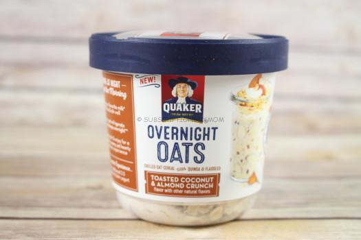 Quaker Overnight Oats Toasted Coconut & Almond Crunch (Special Extra)