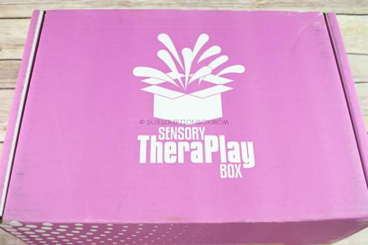 Sensory TheraPlay Box October 2017 Review