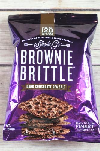 Sheila G's Brownie Brittle Dark Chocolate Sea Salt