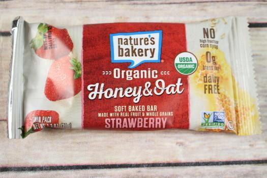 Nature's Bakery Honey & Oat Strawberry Bar
