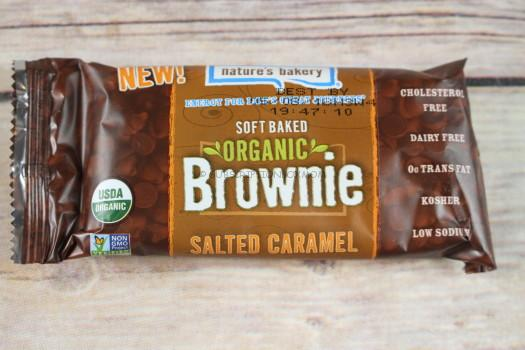 Nature's Bakery Salted Caramel Brownie