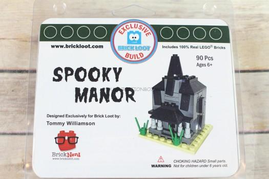 Spooky Manor Exclusive 100% LEGO Build Designed by Tommy Williamson
