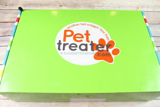 Pet Treater Box October 2017 Review