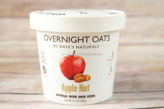 Dave's Naturals Overnight Oats in Apple Nut